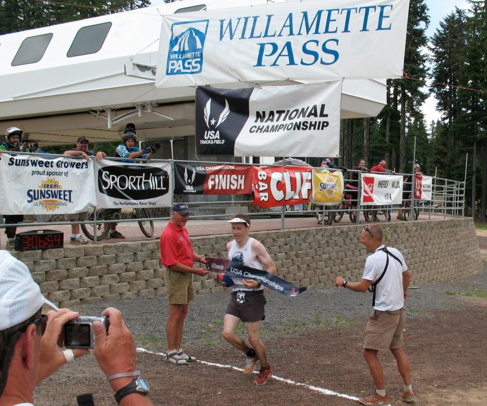 Neil Olsen, 2008 USATF 100km Trail Champion