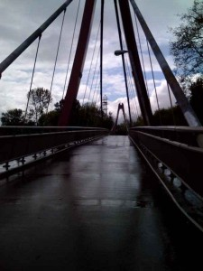 Eugene's answer to the Swinging Bridge.