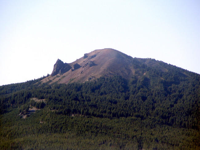 Maiden Peak from the north