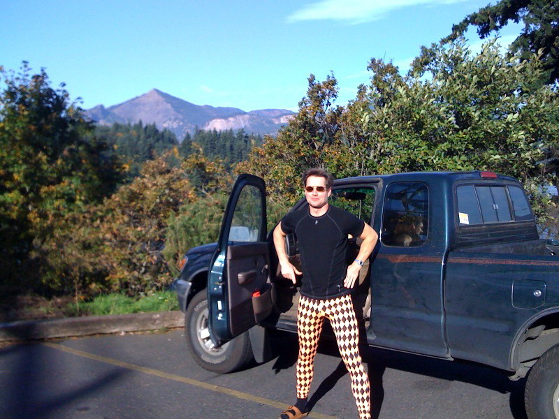 Dave near Table Mtn in the Columbia River Gorge