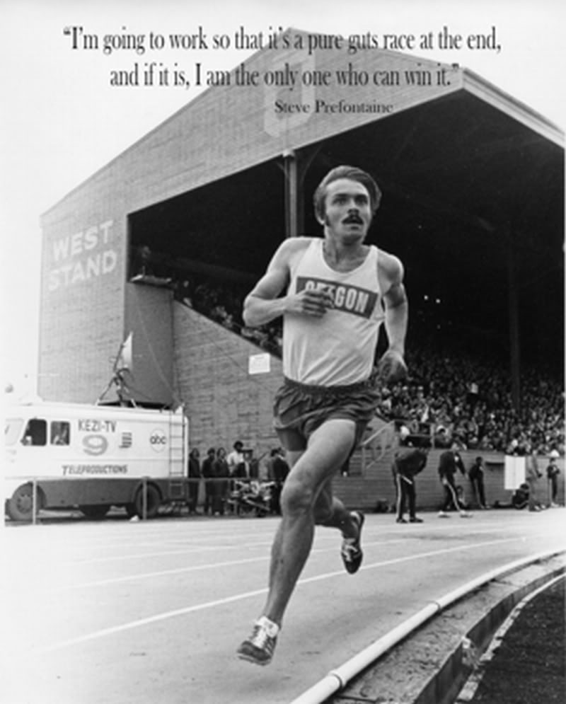 Steve Prefontaine at Hayward Field
