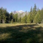 South Sister from Park Meadow