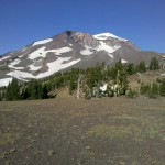 East side of the South Sister